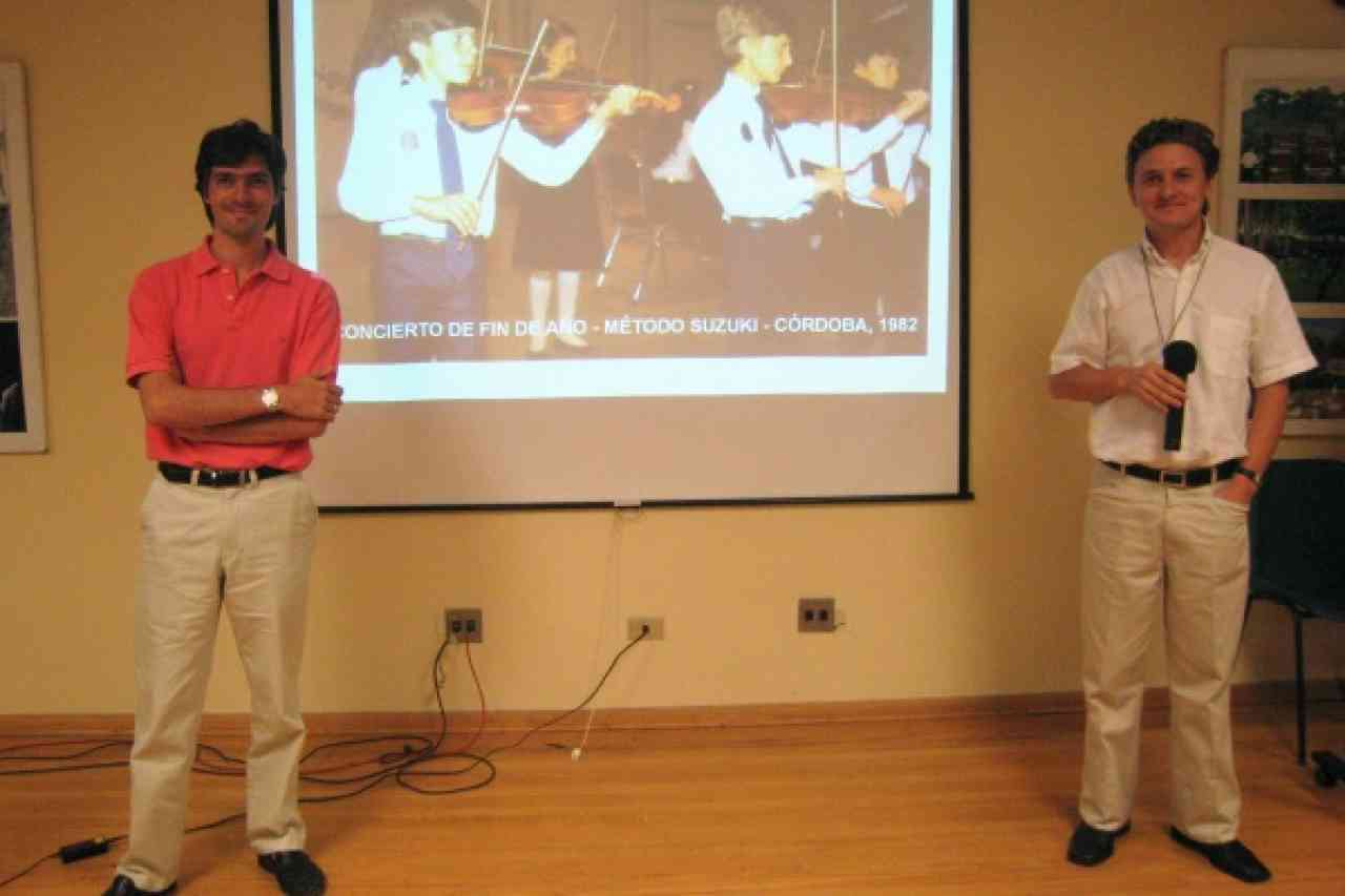 Teacher Trainers Eduardo Ludueña and Fernando Piñero