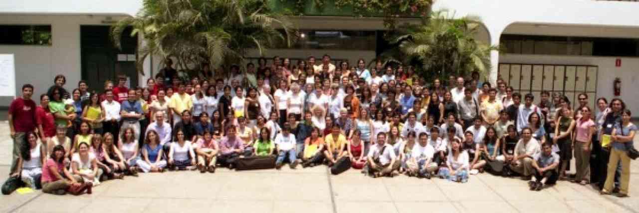 All participants at the Peru Festival