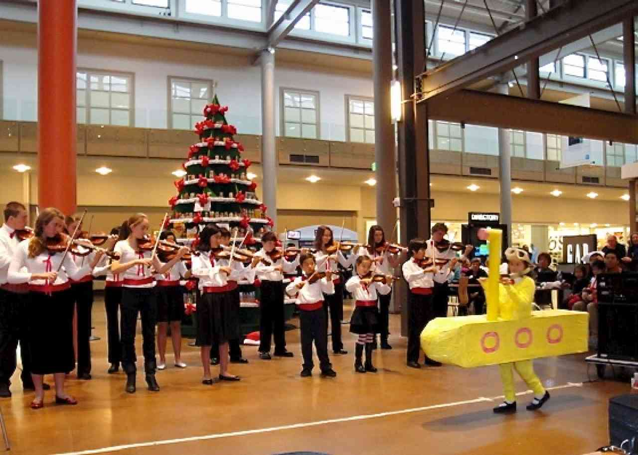Students of Yoko Acheson at her annual holiday concert.