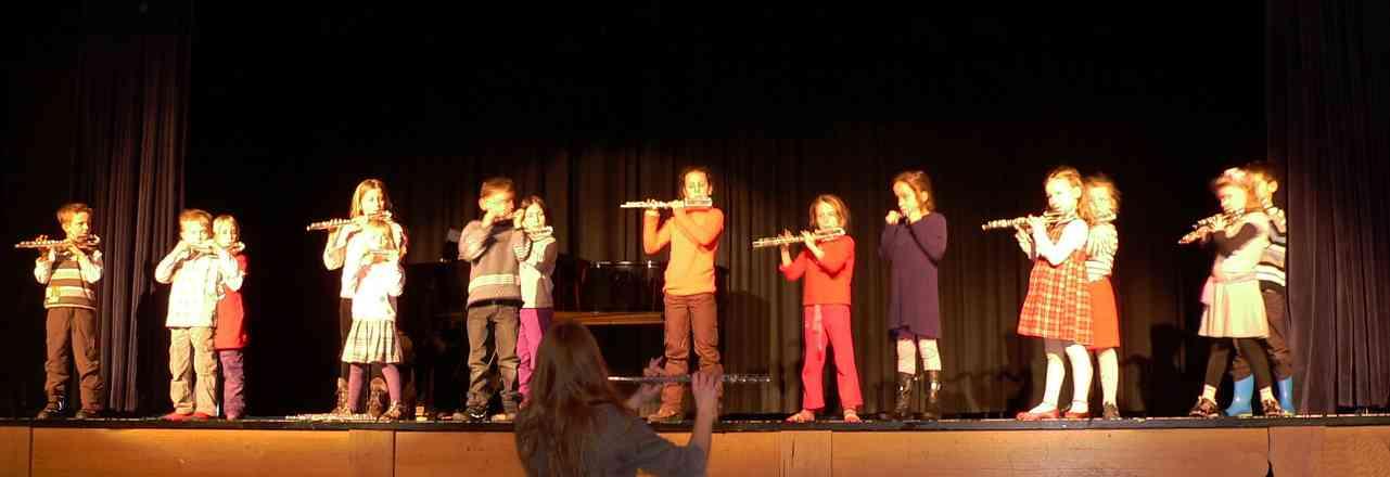 Suzuki flute recital in Germany