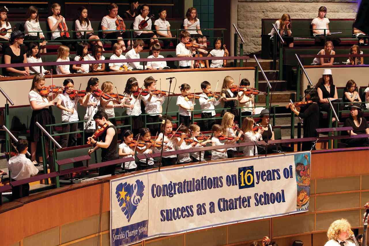 16 years of success at Suzuki Charter School
