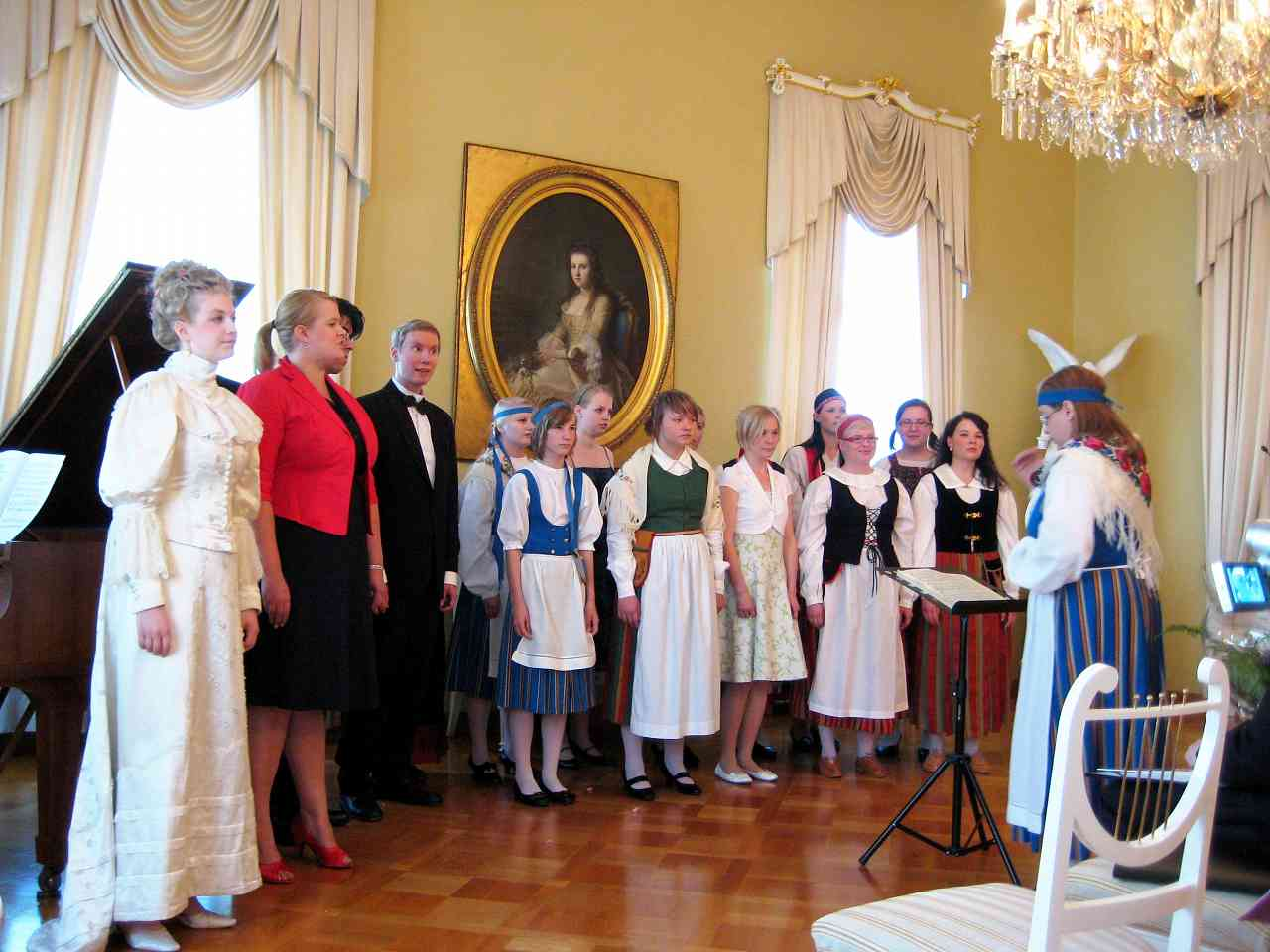 9th Suzuki Voice Workshop, Finland 2010</p>Opening at Government Banquet Hall&#8221; class=&#8221;pic-c-xlg&#8221; /></p> </div> <div class=
