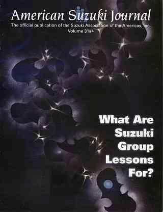 American Suzuki Journal 31.4